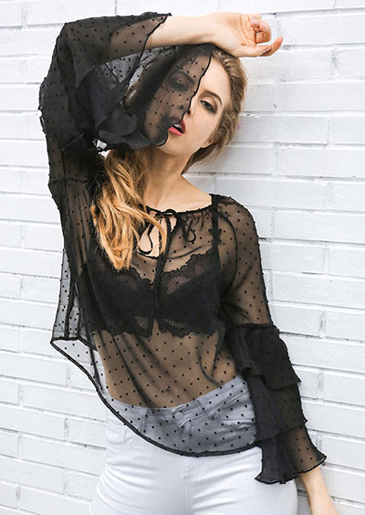 See-Through Blouse