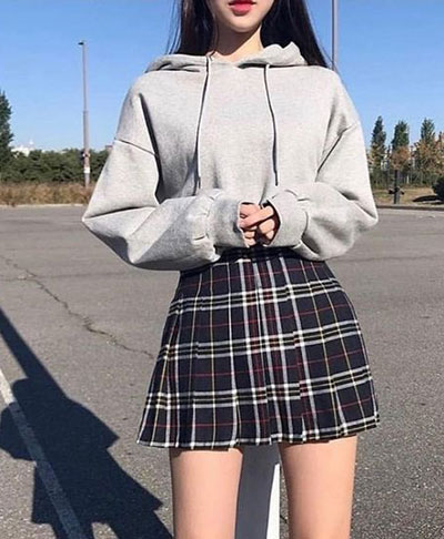Hoodies With Skirts