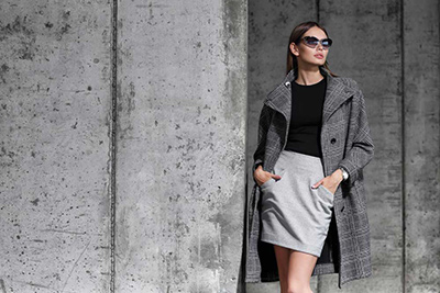 Cashmere And Wool Blend Jacket