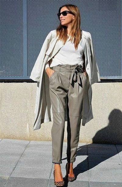 Leather Pants- Hard To Mix & Match Fashion Item