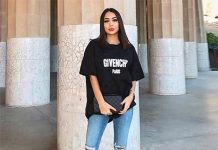 Oversized T-shirt And Jeans