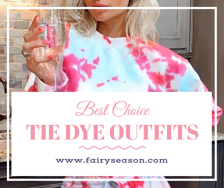 Fairyseason Tie Dye Fashion