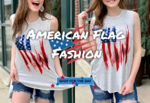 Fairyseason American Flag Clothing