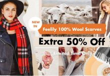 Fairyseason 100% Wool Scarves